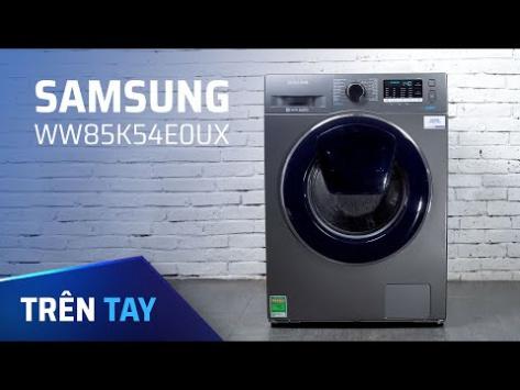 Đánh giá máy giặt Samsung Addwash 8.5kg: Công nghệ EcoBubble đánh...